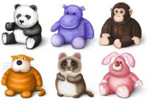 845-stuffed-toys-clipart